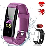 Fitness Tracker-Activity Tracker Smart Watch With Heart Rate Blood Pressure monitor, Pedometer Wristb