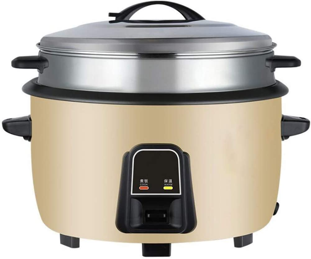 BHDYHM Big Rice Cooker High Capacity Steamed Rice Cooker Steamer Non-Stick Pan 8L Slow Cooker Rice Cooker Steamer and Warmer