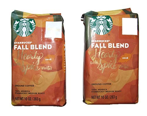 Starbucks Fall Blend, Ground, 10 ounce bag (Pack of 2)