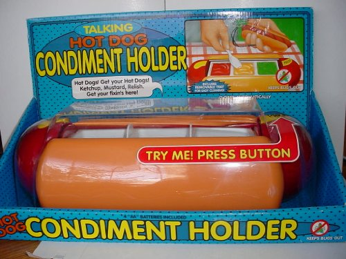 Talking Hot Dog condiment - Dog Hot Condiment
