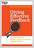 img - for Giving Effective Feedback (HBR 20-Minute Manager Series) book / textbook / text book