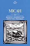 img - for Micah (Anchor Bible Commentary) book / textbook / text book