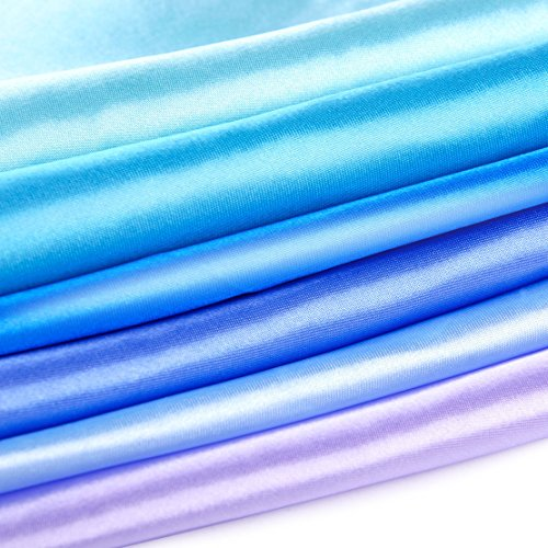 26 Pack Men's Silk Pocket Square Handkerchief Hanky Wedding Party Gift ciciTree by ciciTree (Image #3)