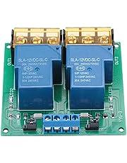 Two Way Relay Module, High Power Two Way Bidirectional Optocoupler Isolation Relay Module 30A YYG-3(DC12V)