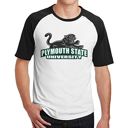Short Raglan Plymouth State University (2) Uniform Sleeve Baseball Male