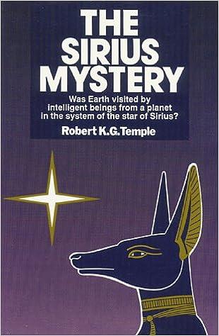 Amazon.com: The Sirius Mystery: 9780892811632: Temple, Robert K.G.: Books