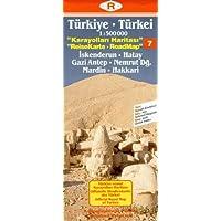 Turkey Road Map: South East - Syria Border No. 7