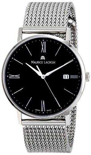 maurice-lacroix-mens-el1087-ss002-310-eliros-analog-display-analog-quartz-silver-watch