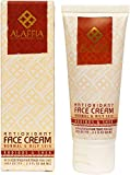 Alaffia - Antioxidant Face Cream, Normal to Oily Skin, Helps Moisturize Skin for Elasticity and Protection from Free Radicals with Coconut Oil and Aloe Vera, Fair Trade, Rooibos and Shea, 2.3 Ounces