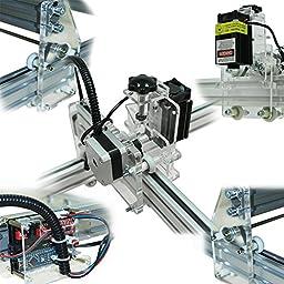 Witbot 2500mw DIY Precise Violet Light Double Motors Laser Evgraving Machine