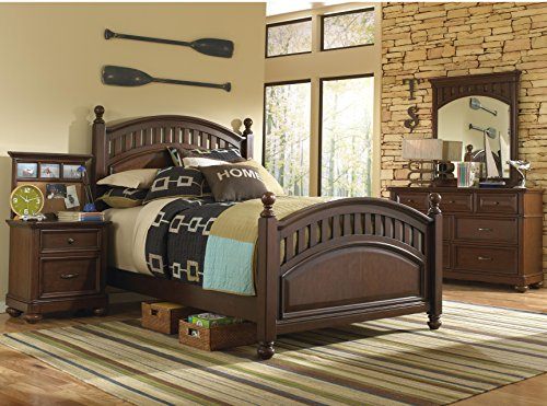 Pulaski Expedition Youth 4 Piece Bedroom Set, Twin by Pulaski