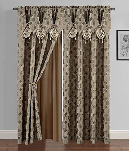 Luxury Curtain Panel Set - 4