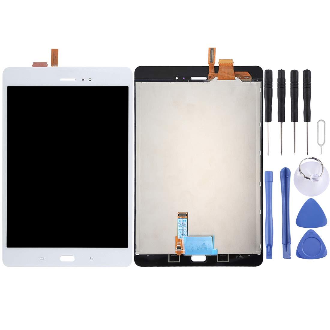 【送料無料】 修理用フロントパネル(フロントガラスデジタイザ)タッチパネル 白 Lcd液晶パネルセット (色 Galaxy Tab Tab A 8.0/ P355(3G版)用LCDスクリーンとデジタイザーのフルアセンブリ (色 : 白) 白 B07N6H7S5V, 青山ドッグアンドスタイル:b48956a1 --- senas.4x4.lt
