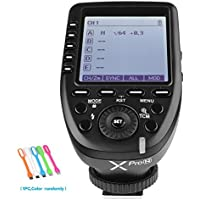 Godox XPro-N i-TTL 2.4G Wireless High Speed Sync 1/8000s X system Flash Trigger Transmitter For Nikon Cameras ,11 Customizable function,5 group buttons,4 function buttons offer convenient manipulation