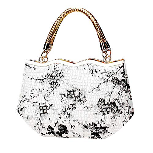Chinese Top-Handle Bags Handbags Brands blue and white porcelain messenger bag handbag,Black,China