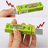 Simplefirst Shocking Gum, Funny Shock Gag Electric Shocking Pull Head Chewing gum (Random Color, 1Pcs)