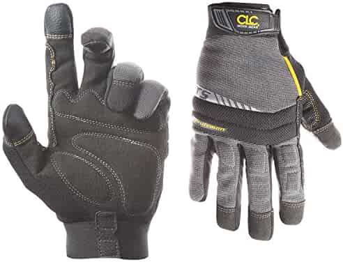 CLC 125L Handyman Flex Grip Work Gloves, Shrink Resistant, Improved Dexterity, Tough, Stretchable, Excellent Grip