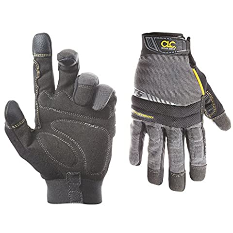 Custom Leathercraft 125XL Handyman Flex Grip Work Gloves, Shrink Resistant, Improved Dexterity, Tough, Stretchable, Excellent (Tough Chest)