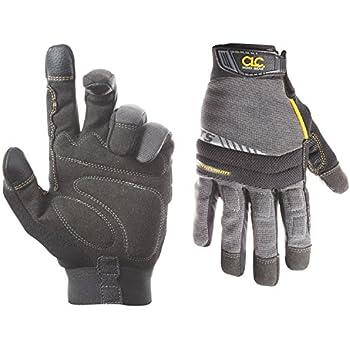 CLC Custom Leathercraft 125M Handyman Flex Grip Work Gloves, Shrink Resistant, Improved Dexterity, Tough, Stretchable, Excellent Grip