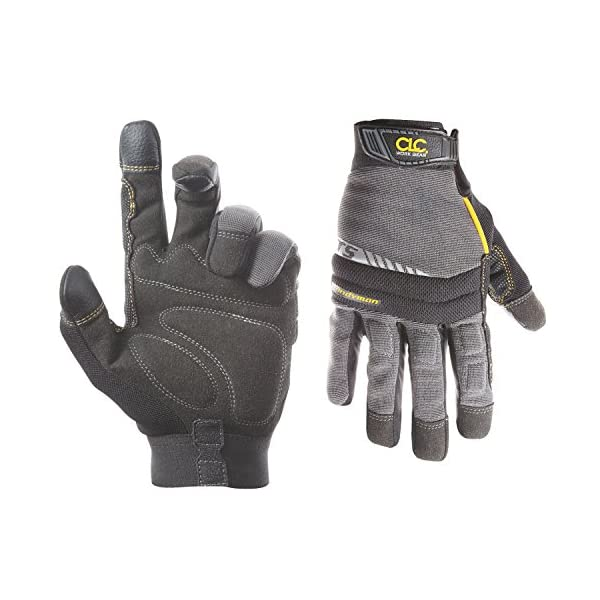 CLC 125L Handyman Flex Grip Work Gloves, Shrink Resistant, Improved Dexterity, Tough, Stretchable, Excellent Grip, 3… 1
