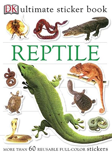 Ultimate Sticker Book  Reptile  Ultimate Sticker Books