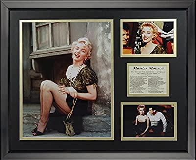 "Legends Never Die Marilyn Monroe Bus Stop Framed Photo Collage, 16"" x 20"""