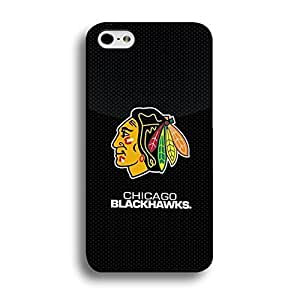 Style334 Terrific Series Chicago Blackhawks Print Ice Hockey Team Symbol Tough Case Cover for Iphone 6 / 4.7 Inch