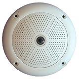 Mobotix Hemispheric Q24 Q24M-Sec Network Camera - Color - CMOS - Cable - Fast Ethernet - USB