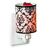 Candle Warmers Etc. Pluggable Fragrance Warmer, Damask