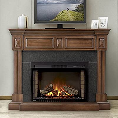 Napoleon The Braxton 29 in. Electric Fireplace Entertainment Center