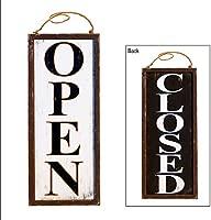 Amazon.com: Cartel para puerta de madera de estilo clásico ...