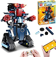 Remote Control Robot, RC Building Kit Building Block Robot Educational RC Robot Bricks STEM Toys Construction Engineering...