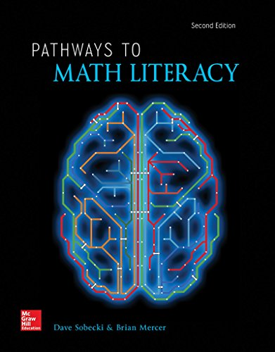 Pathways to Math Literacy (LooseLeaf)