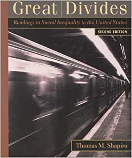 Book Great Divides: Readings in Social Inequality in the United States
