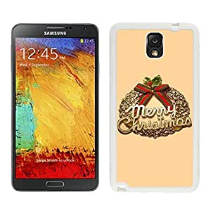 Galaxy Note 3 Case,Christmas Olive Branch Black TPU Note 3 Case-Christmas Series Samsung Note 3 Case