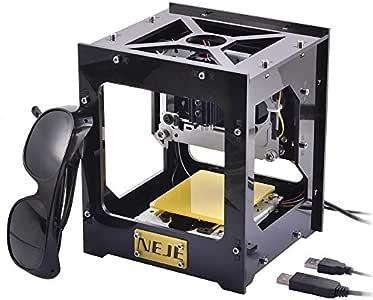 WER imagen impresora grabador láser DIY 300 mW USB Logo tallar la máquina de corte: Amazon.es: Electrónica