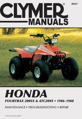 - Honda 4trax 200SX/ATC200X 86-88 (Clymer All-Terrain Vehicles)