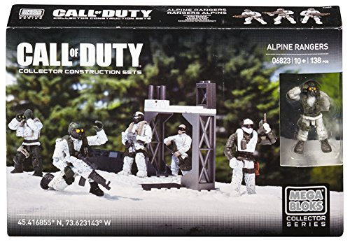 Best Seller Mega Bloks Call of Duty Alpine Rangers