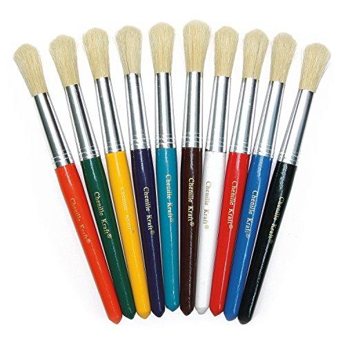 Colossal Paint Brush (Creativity Street Round Stubby Brush Set of)