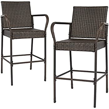 Amerihome bs107set soda cap bar stool set red - Amazon bedroom chairs and stools ...