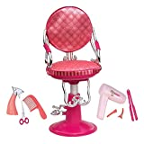 Our Generation Sitting Pretty Salon Chair (Coral)