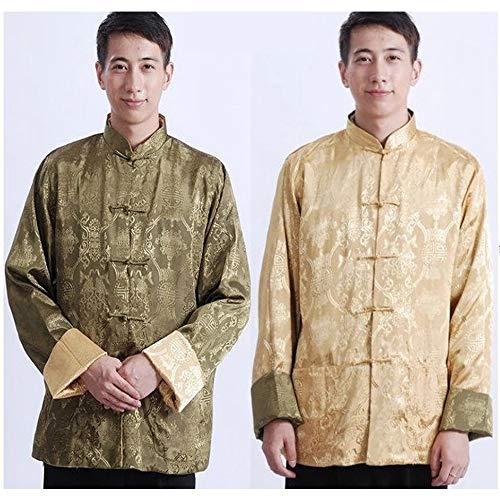 Chemises Deux Arts Hommes De Bozevon Kung Longues Femmes Les Tang Chinois Côtés Veste 04 Manches Martiaux hommes Fu Style Costume Manteaux Manteau 41Ux18wq