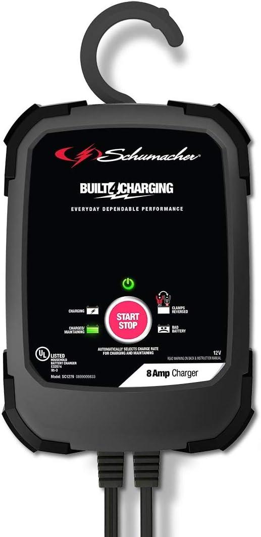 Schumacher SC1322 10A 6V//12V Handheld Battery Charger