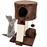 Animals Favorite Cat Condo Perch - Cat Tree with Scratch Post for Small Cats and Kittens (Condo Perch)