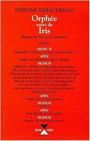 Téléchargement Orphée - Iris pdf