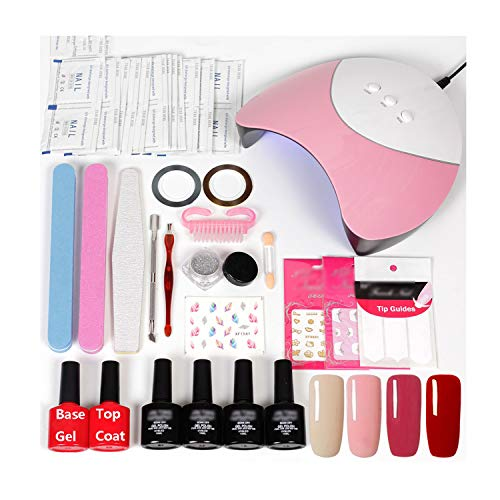 Nail Art Templates Aspiring Ur Sugar 1 Pc Clear Silicone Stamper Matte Handle With Scraper Stamping Dual-ended Colorful Stamp Manicure Nail Art Tool Set