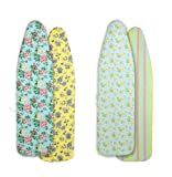 LAURA ASHLEY Reversible Ironing Board Cover, Delancey/Daisies