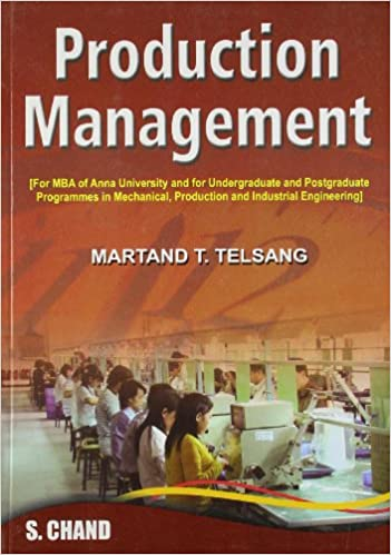 Industrial engineering and production management book by martand telsang pdf