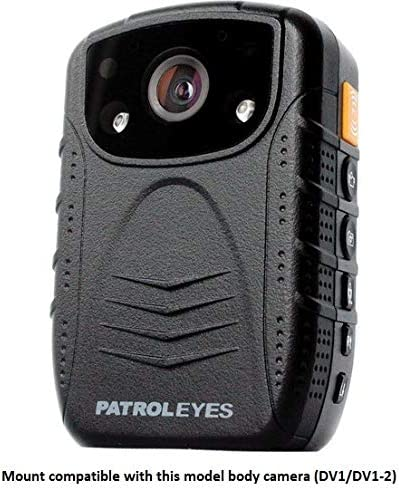 PatrolEyes klick Fast Quick Release Police Body Camera Molle Strap Chest Mount for PatrolEyes DV1//DV1-2 Pictured