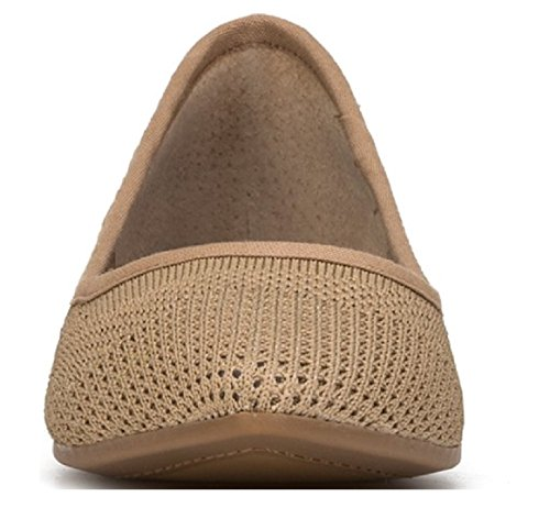 store buy for sale Dr. Scholl's Shoes Original Collection Women's Shoes Textile Fresh Woven Beige Flat Ballerina Memory Foam clearance how much uXBdyOcaxI